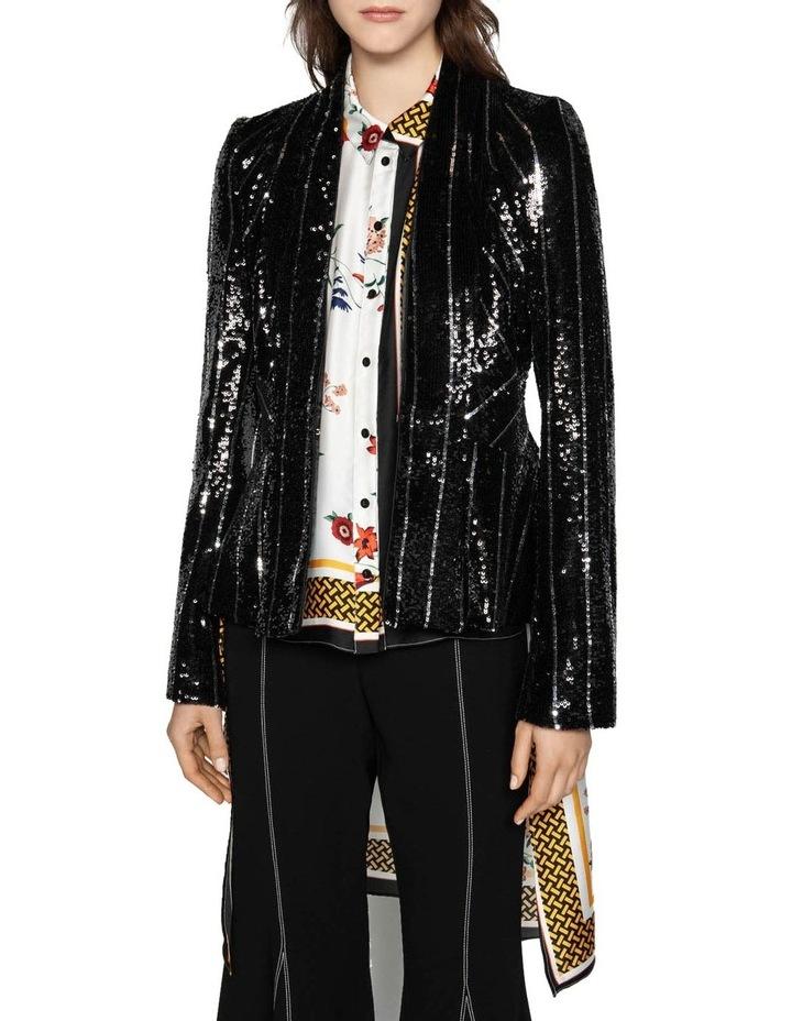 Sequin Tuxedo Jacket image 2