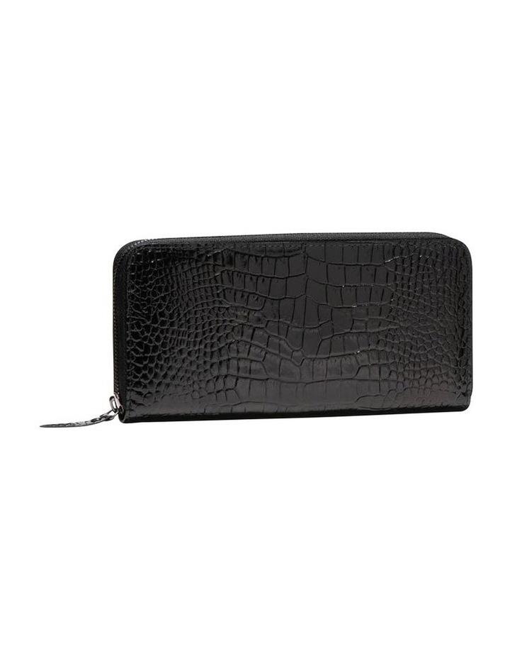 Black Croc Wallet image 1