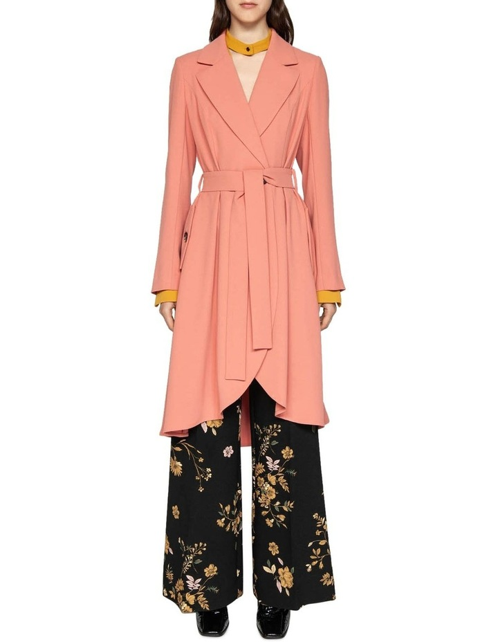 Crepe Belted Trench image 1