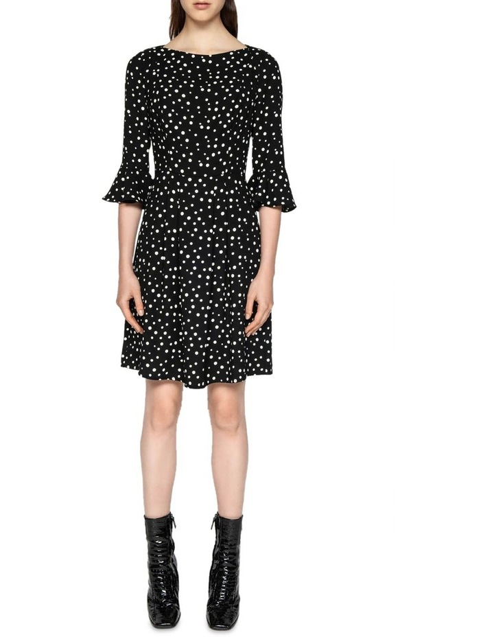 Spot Crepe Dress image 1