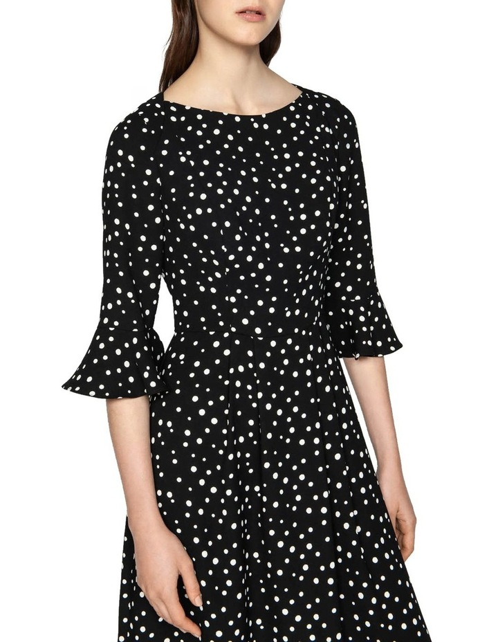 Spot Crepe Dress image 2