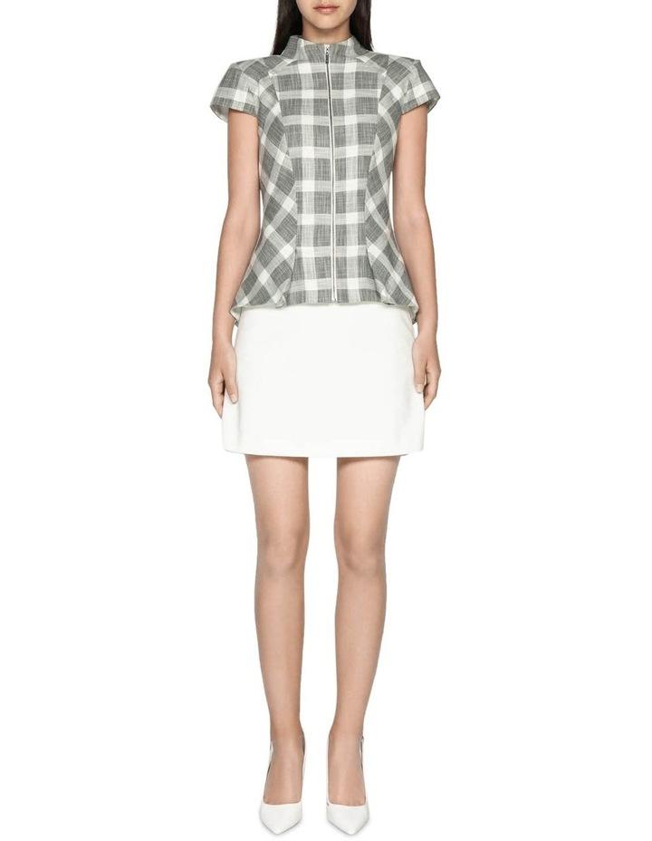 Cotton Blend Mini Skirt image 1