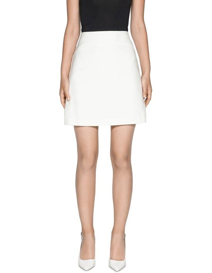 Cotton Blend Mini Skirt image 2