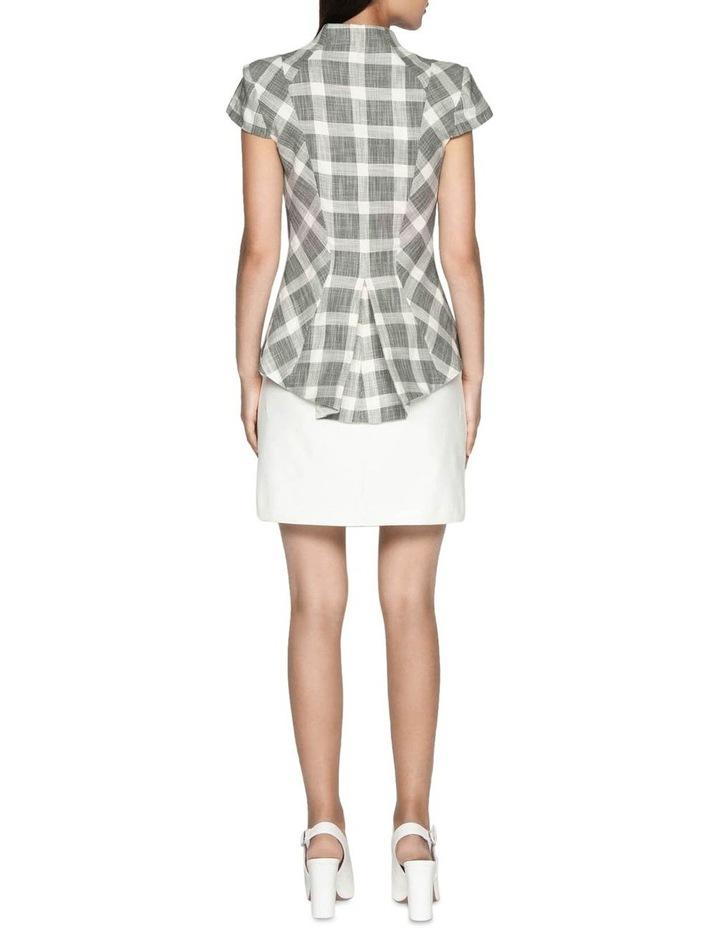 Cotton Blend Mini Skirt image 3
