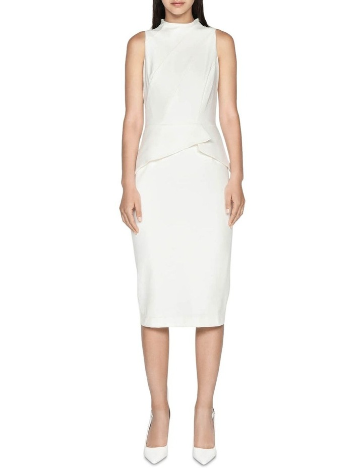 Cotton Blend Pencil Dress image 1