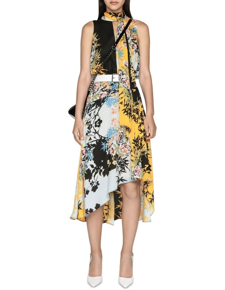 Bamboo Floral Georgette Dress image 1