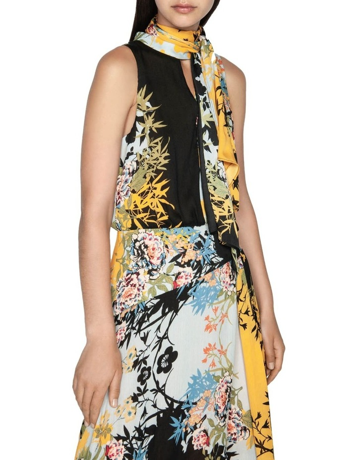 Bamboo Floral Georgette Dress image 2