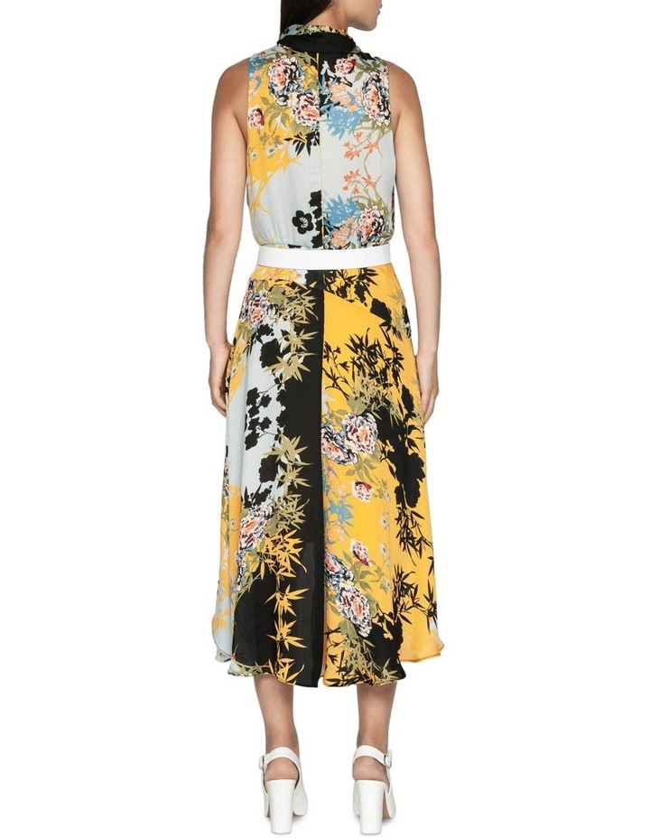 Bamboo Floral Georgette Dress image 3