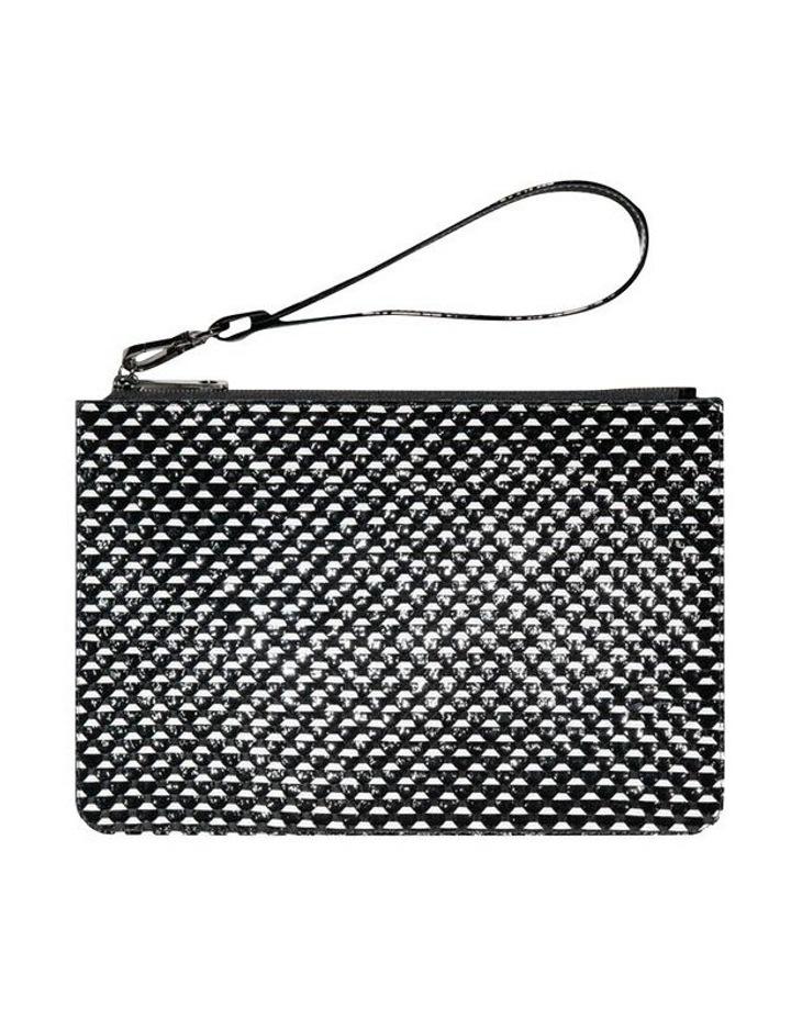 Monochrome Leather Clutch image 2