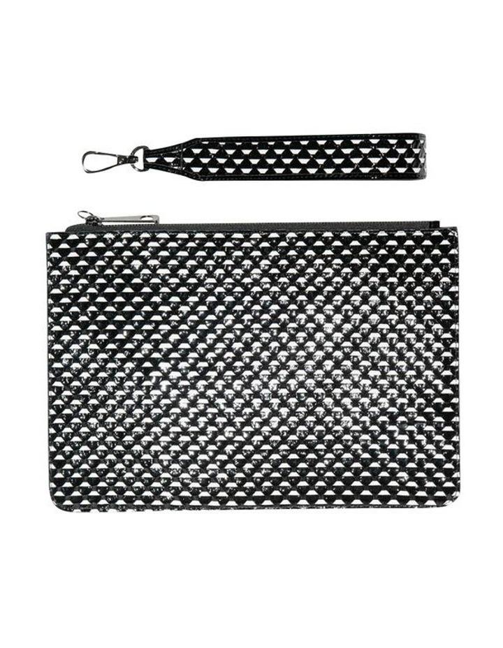 Monochrome Leather Clutch image 3