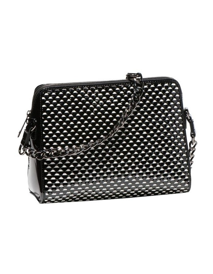 Monochrome Leather Cross Body Bag image 1