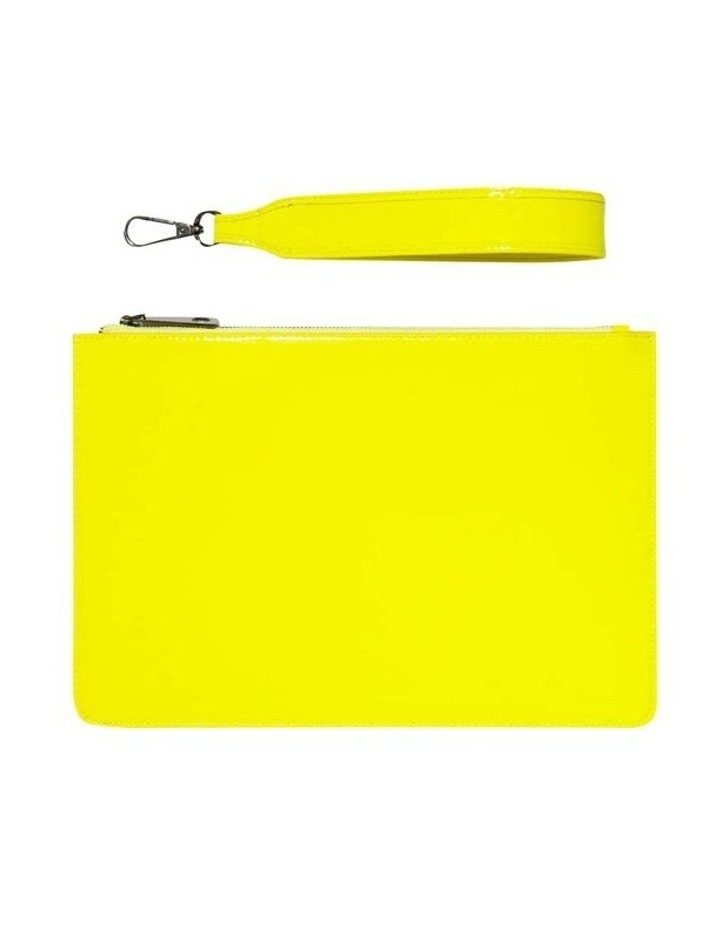 Neon Yellow Clutch image 3