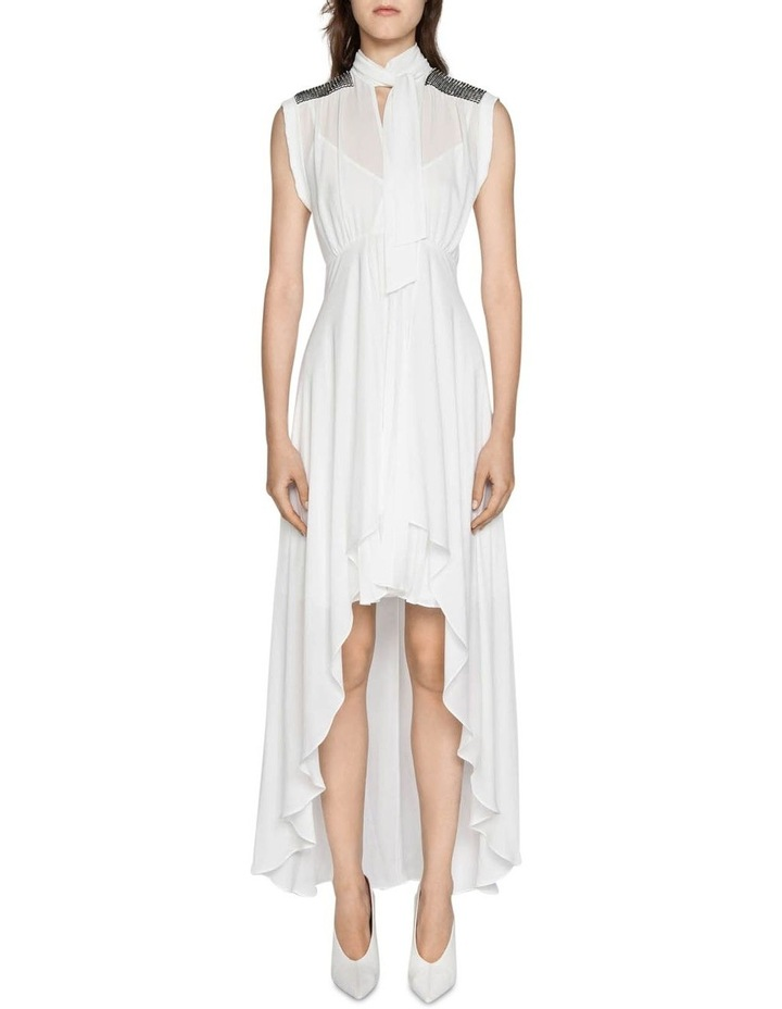 Ivory Georgette Dress image 1