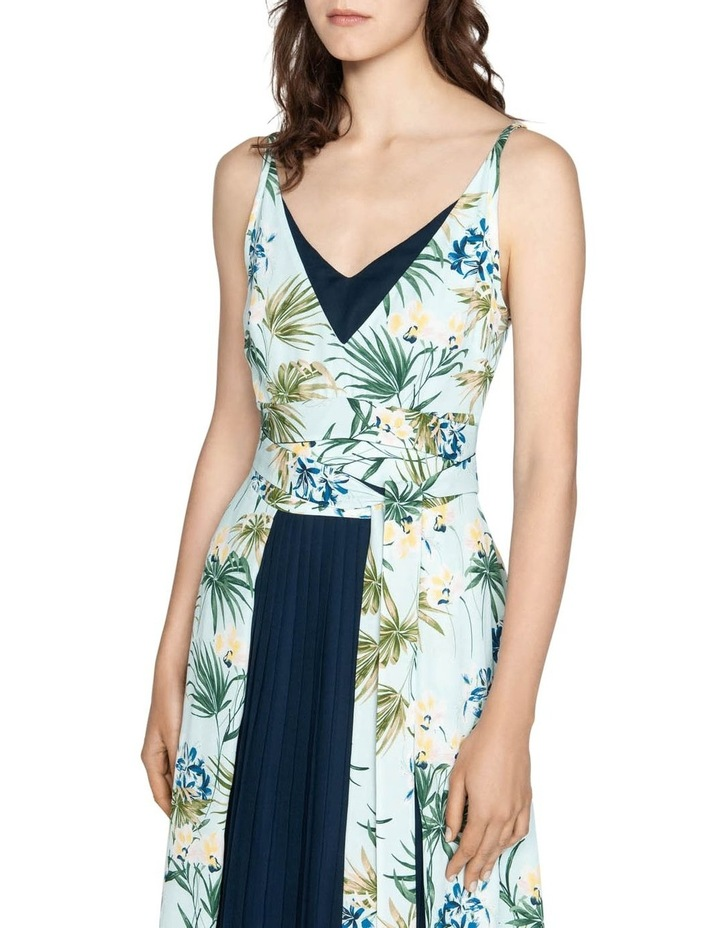 Tropical Georgette Dress image 2