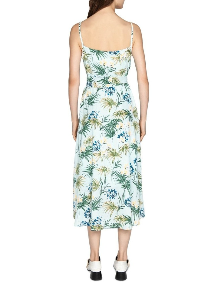 Tropical Georgette Dress image 3