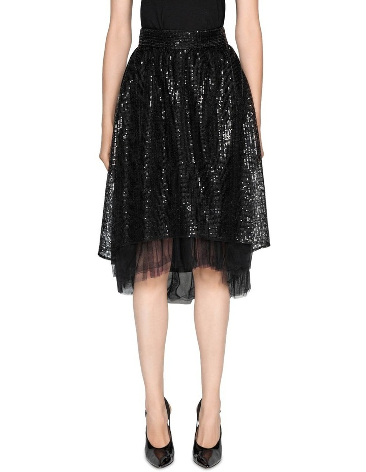 Sequin Mesh Skirt image 5