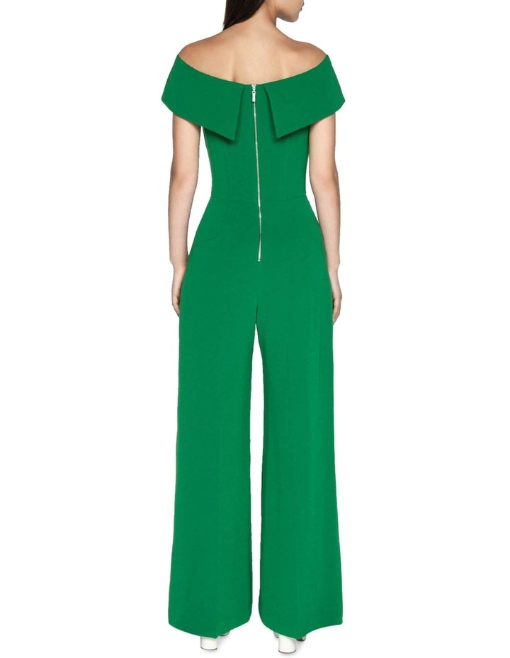 Crepe Off The Shoulder Jumpsuit image 3