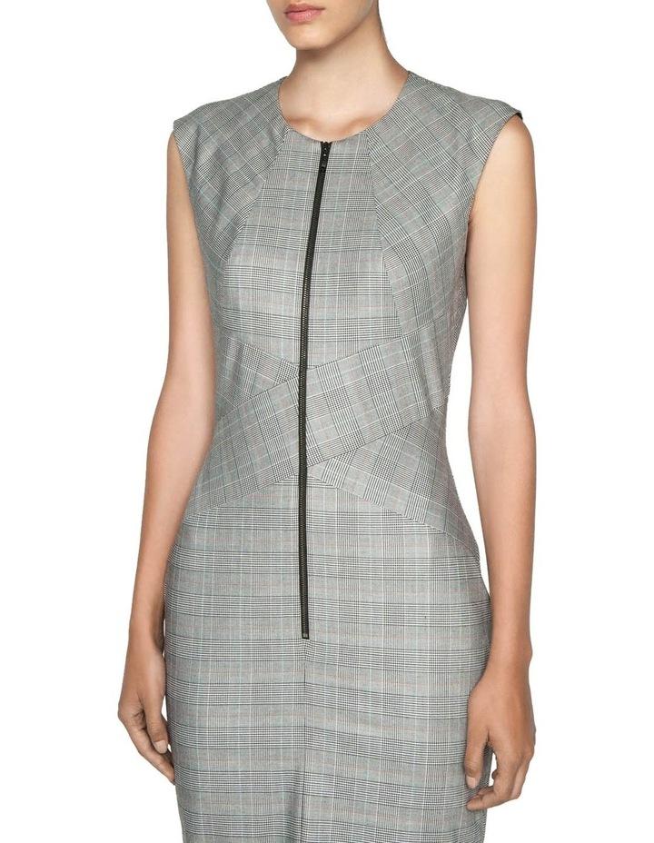 Highlight Check Pencil Dress image 2