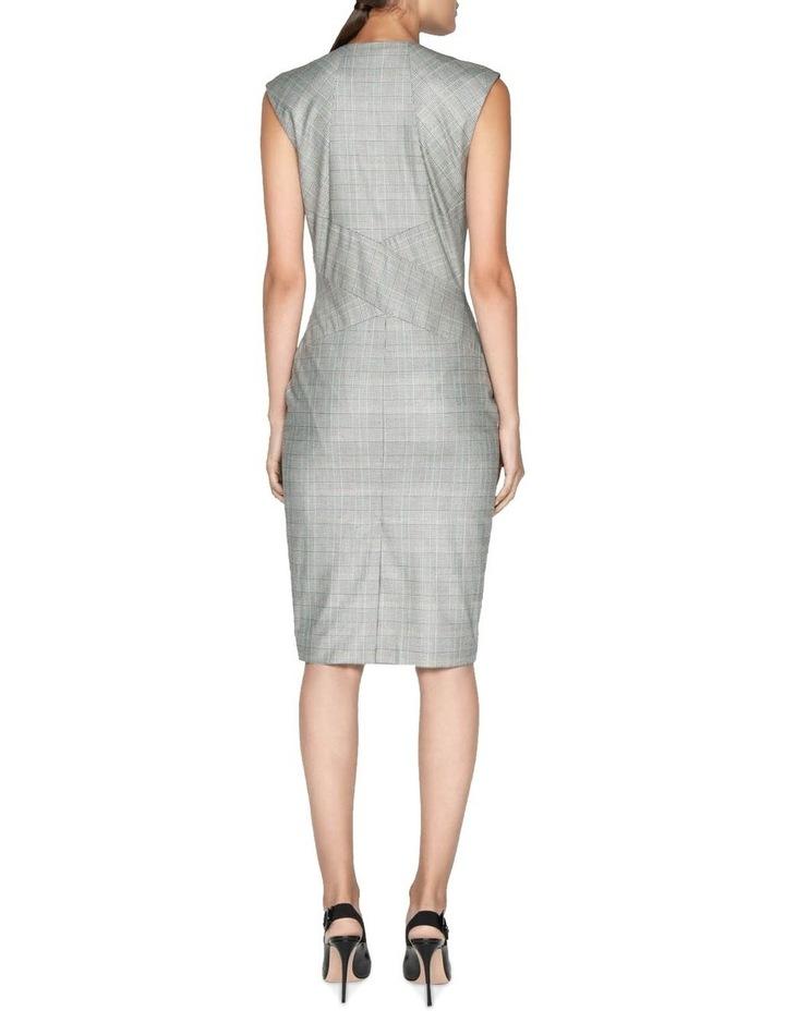 Highlight Check Pencil Dress image 3