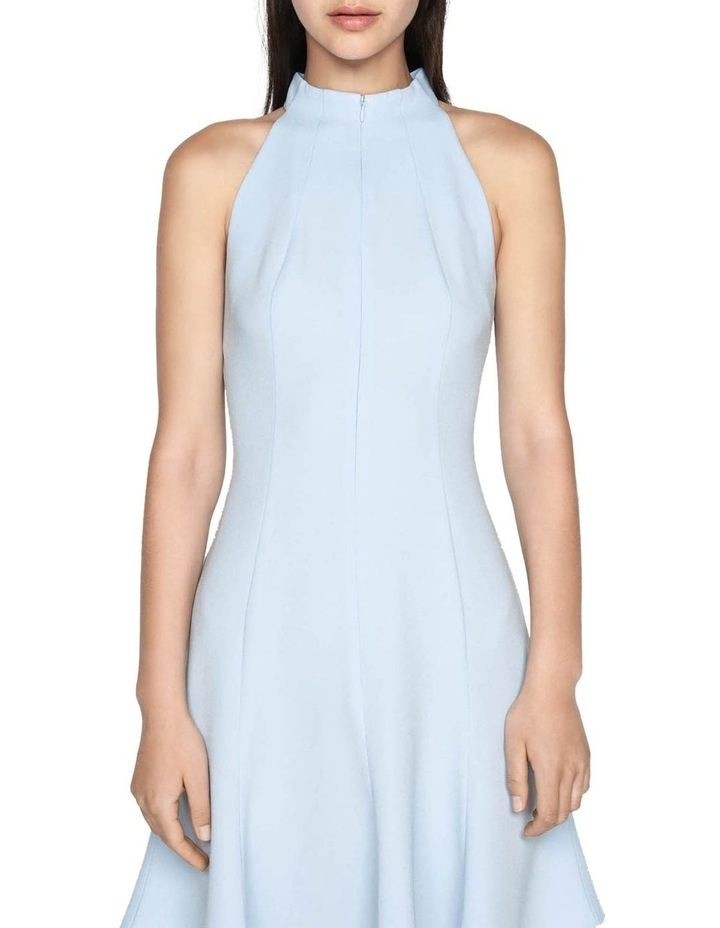 Crepe Racer Fit and Flare Dress image 2