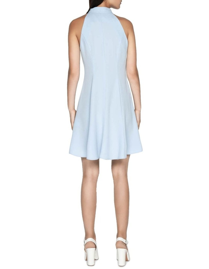 Crepe Racer Fit and Flare Dress image 3