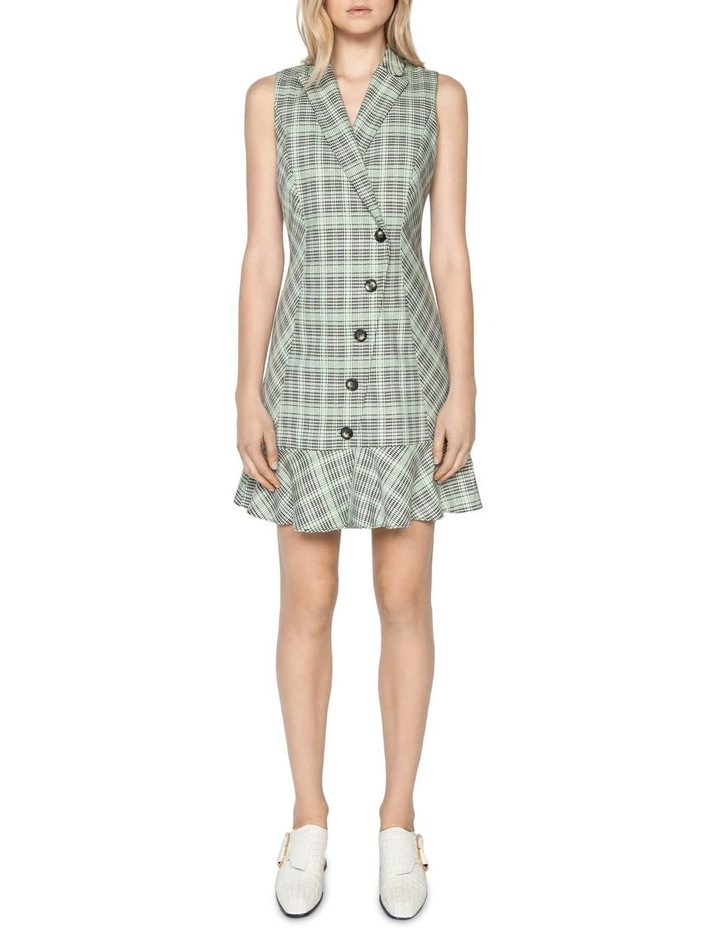 Check Button Front Dress image 1