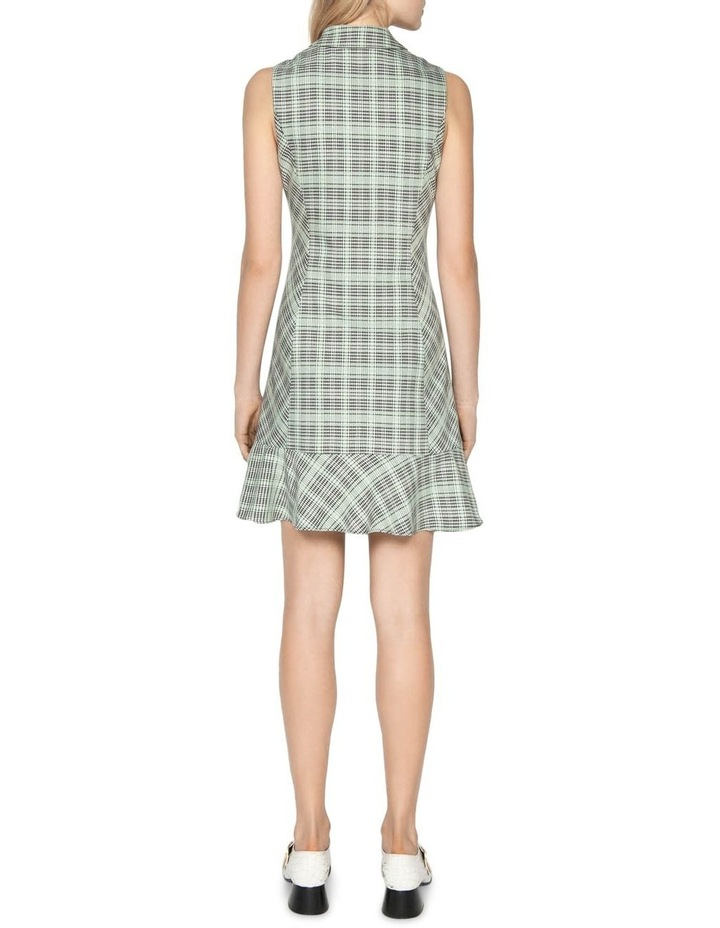 Check Button Front Dress image 3