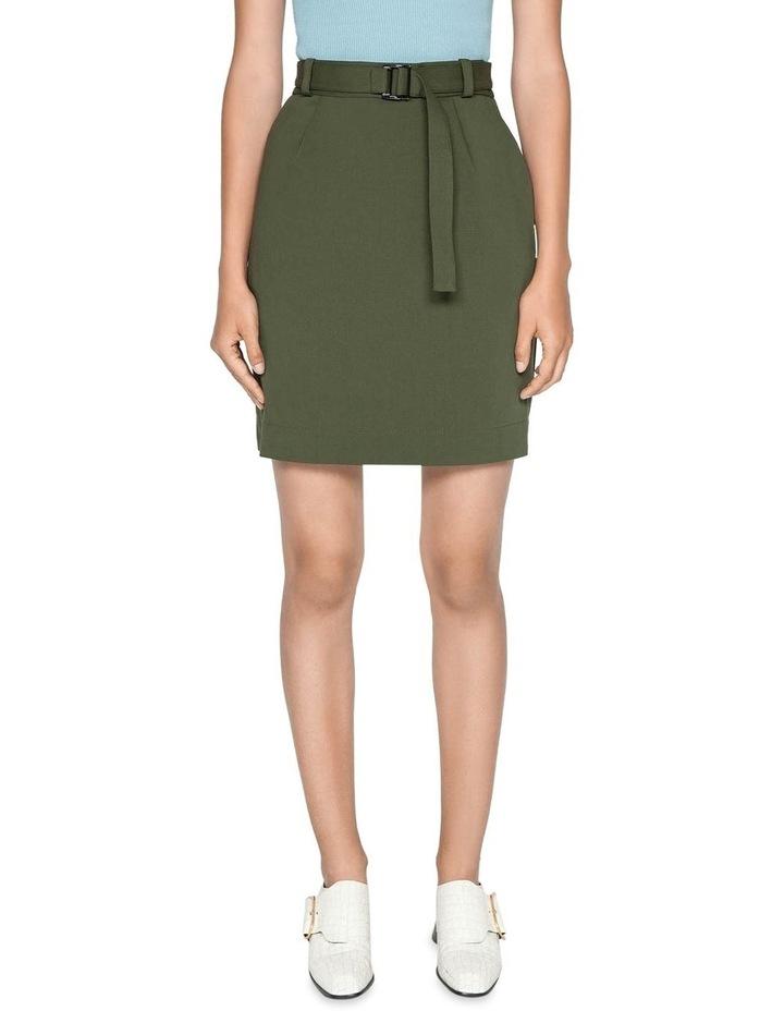 Belted Mini Skirt image 2