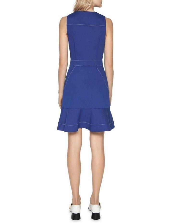 Cobalt Zip Front Dress image 3
