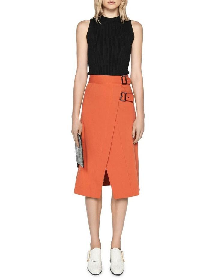 Soft Cotton Midi Skirt image 1