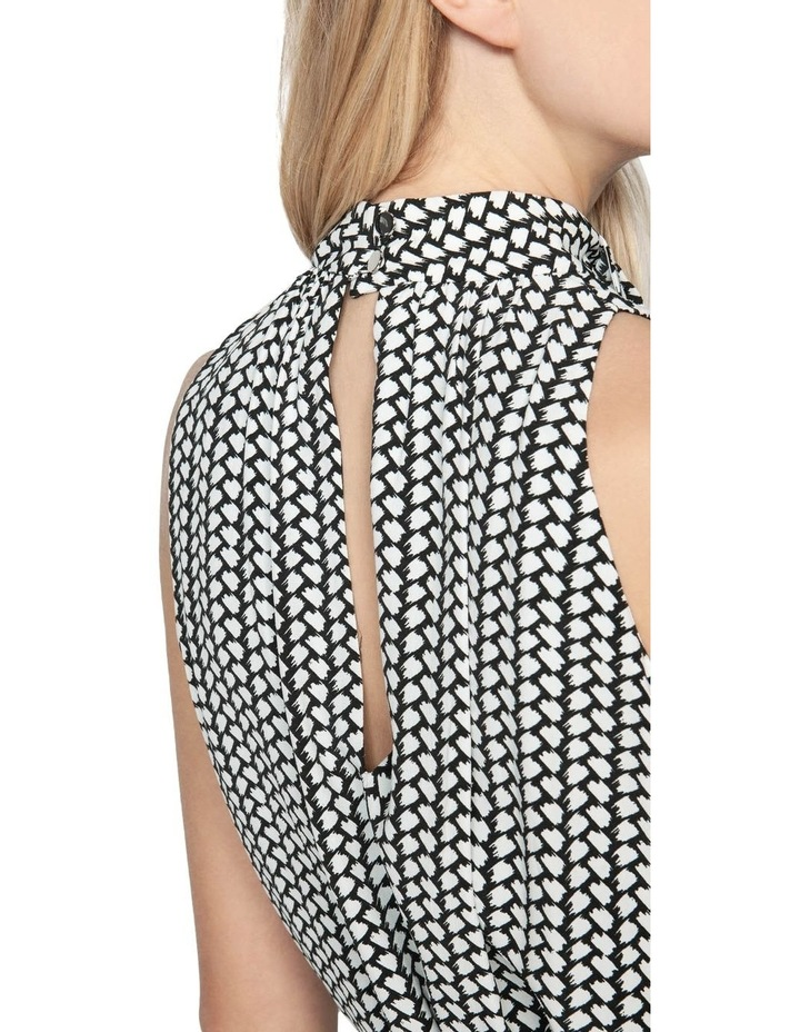 Brushstroke Layered Dress image 4