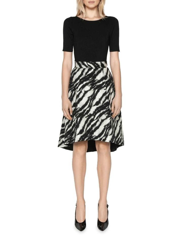 Tiger Stripe Jacquard Skirt image 1