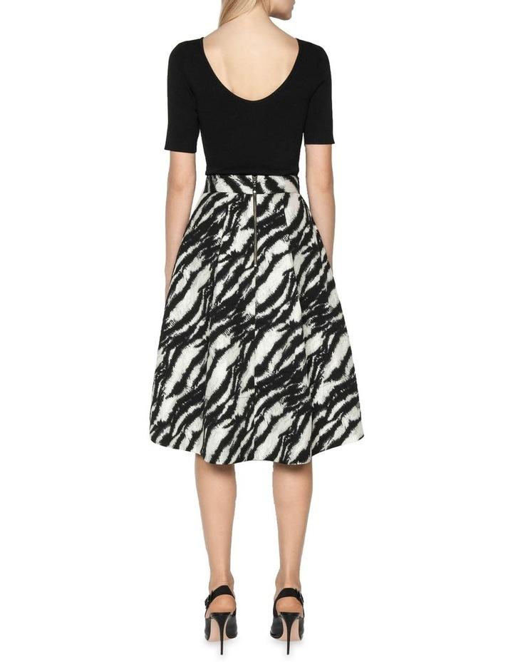 Tiger Stripe Jacquard Skirt image 3