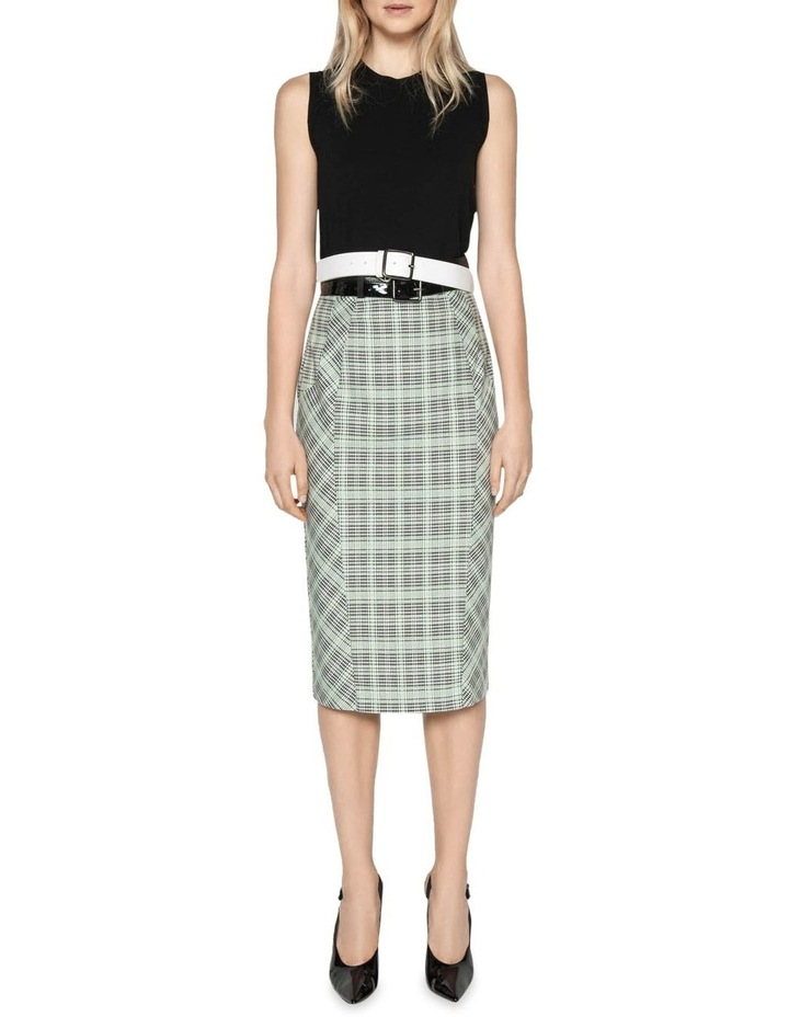 Check Pencil Skirt image 1