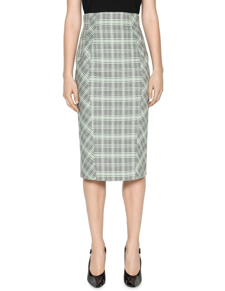 Check Pencil Skirt image 2
