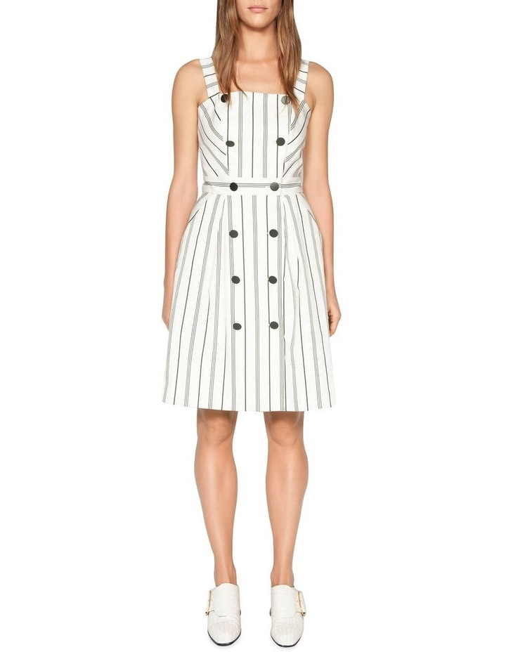 Bold Stripe Button Front Dress image 1