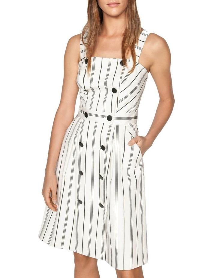 Bold Stripe Button Front Dress image 2