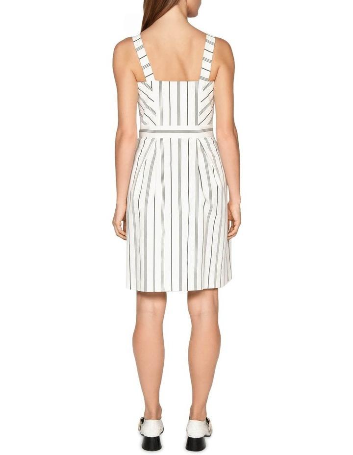 Bold Stripe Button Front Dress image 3