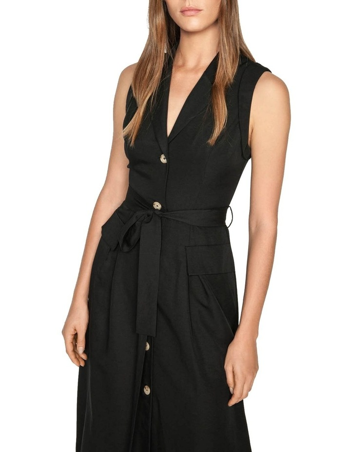 Belted Button Front Dress image 2