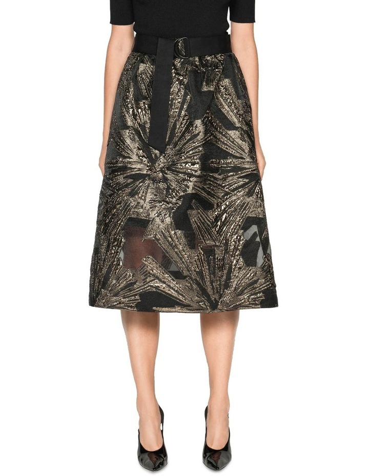 Metallic Jacquard Skirt image 2