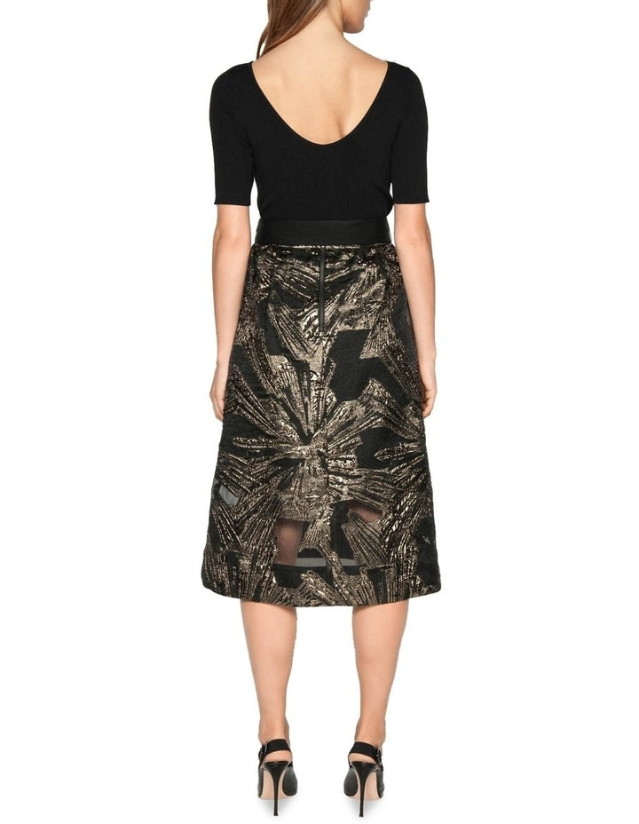 Metallic Jacquard Skirt image 3