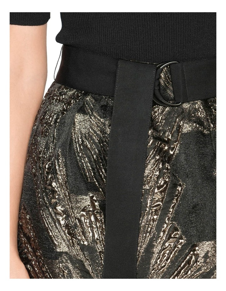 Metallic Jacquard Skirt image 4