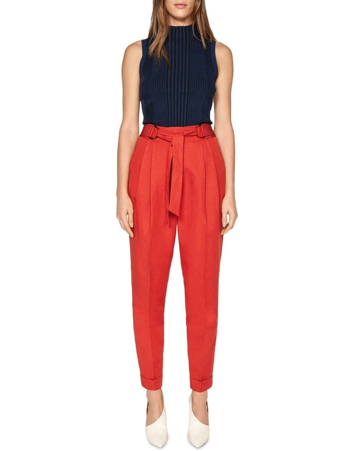 Belted Tapered Pant image 1
