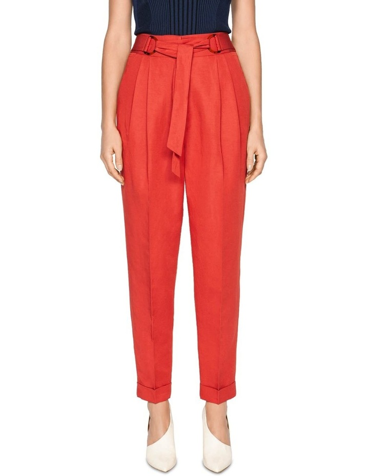 Belted Tapered Pant image 2