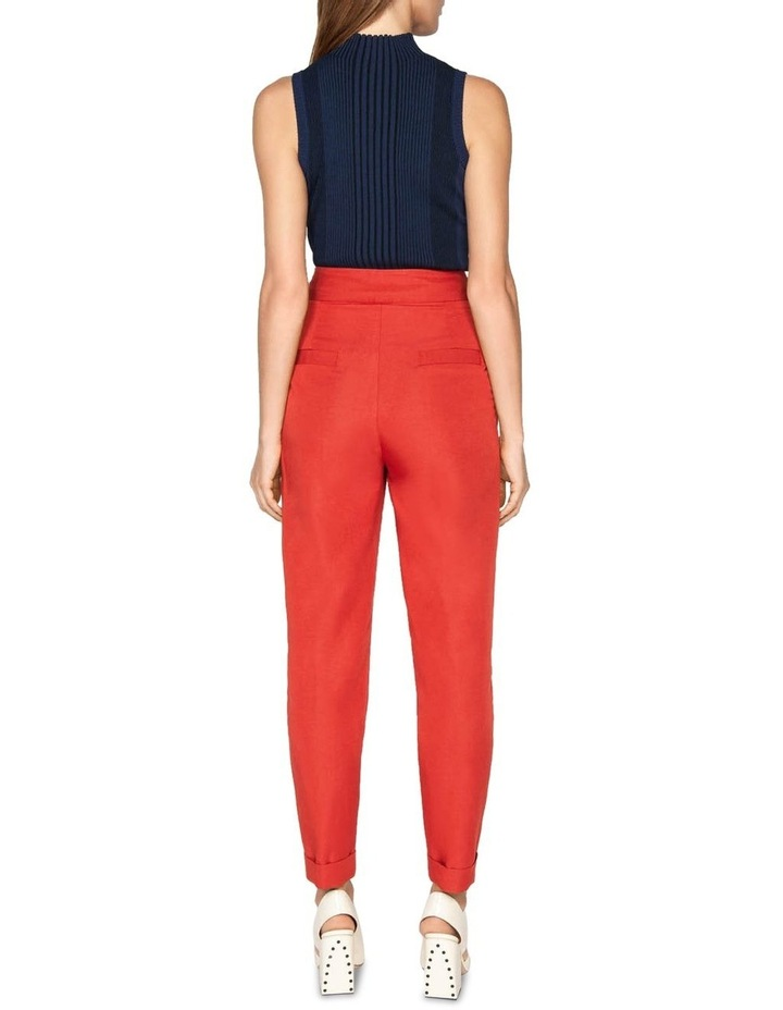 Belted Tapered Pant image 3