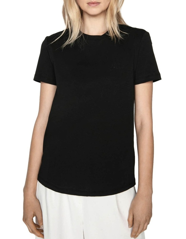 Embroidered Cue Tee image 2