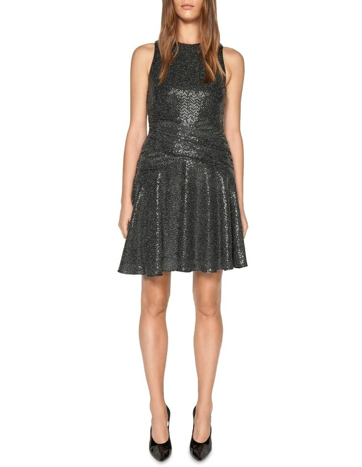 Lurex Sequin Knit Dress image 1