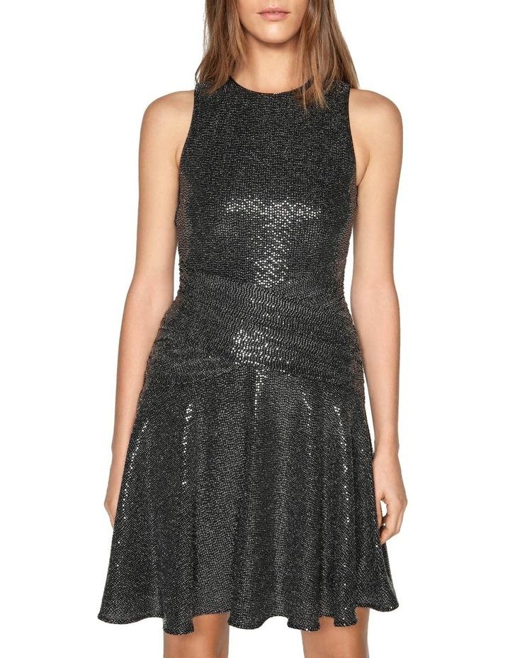 Lurex Sequin Knit Dress image 2
