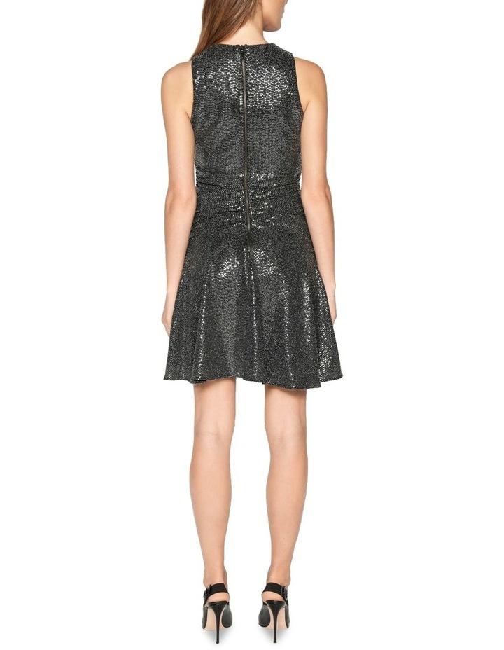 Lurex Sequin Knit Dress image 3