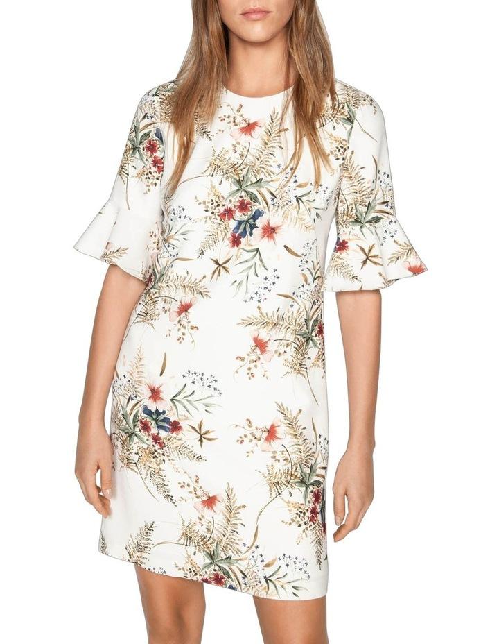 Illustrated Floral Shift Dress image 2